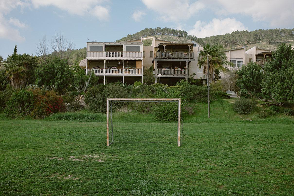 חוג כדורגל בקיבוץ צרעה