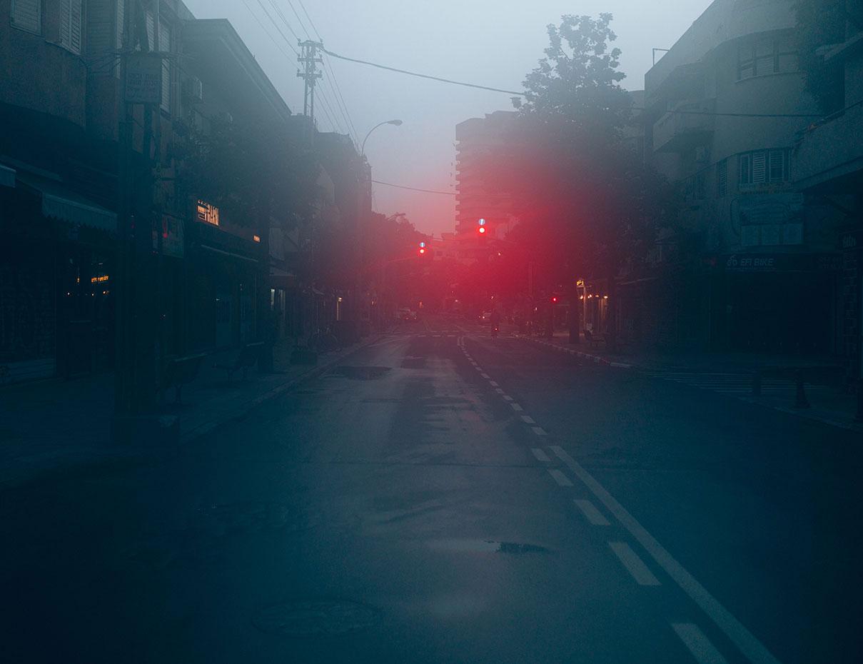 דויד סקורי - צילום רחוב קינג׳ ג׳ורג׳ בבוקר