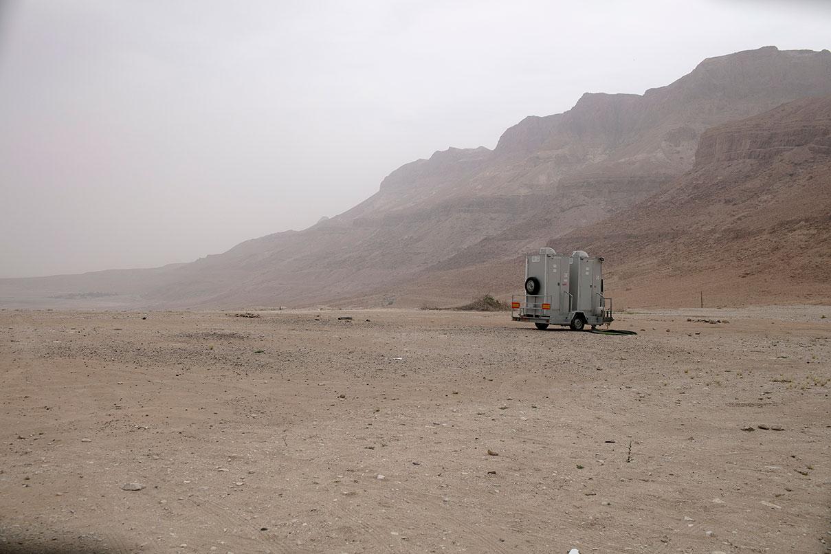 דויד סקורי - צילום במדבר