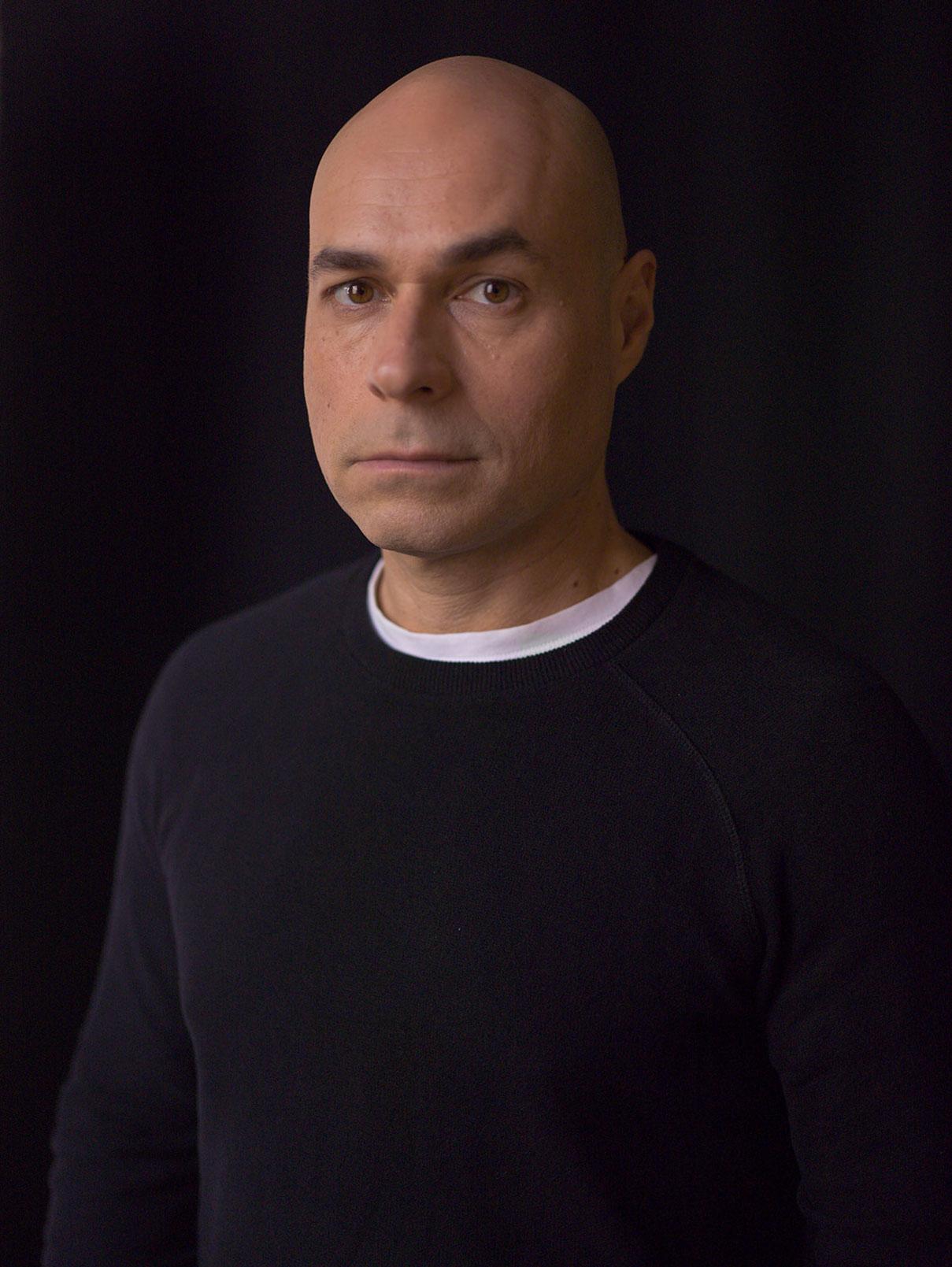 דוד סקורי צילום פורטרט עבור שחקן ויוצר