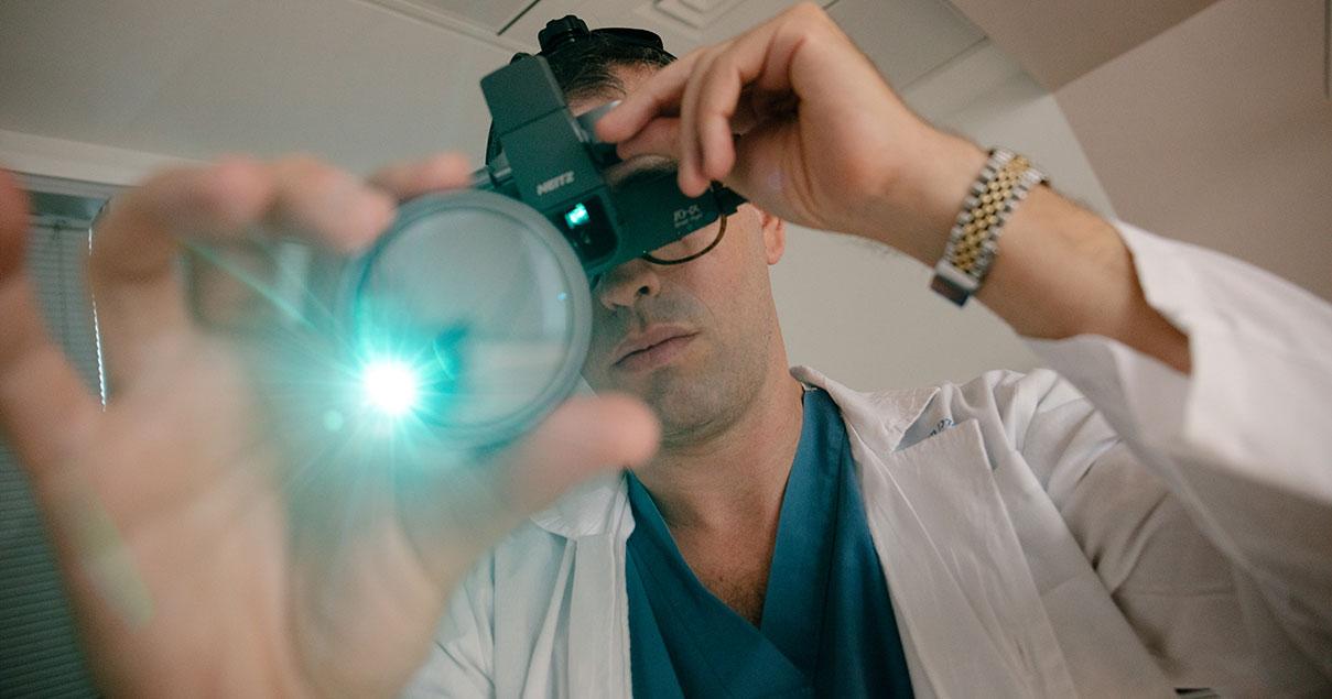 דוד סקורי - צילומי תדמית עבור רופא עיניים