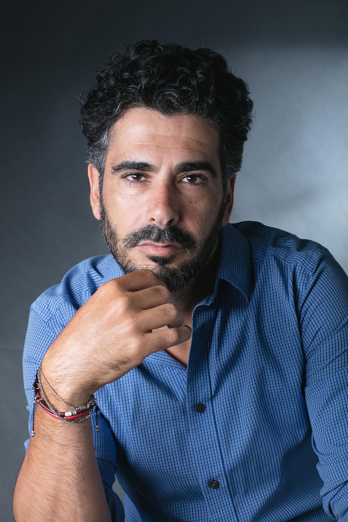 דויד סקורי צילום פורטרט מקצועי עבור שחקן - גילי דסיאנו